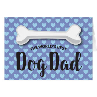 FATHER'S DAY FROM THE DOG | DOGGY BONE CARD