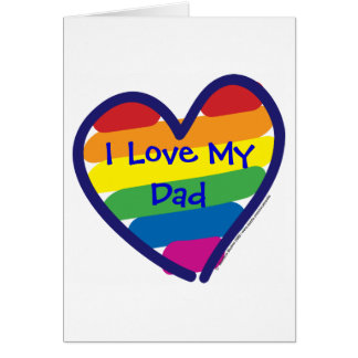Father's Day Gay Pride Card