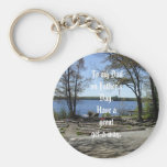 Father's Day Get-A-Way Keychain