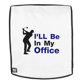 Fathers Day Gift Golf Dad Grandpa Golfing Golfer Backpack