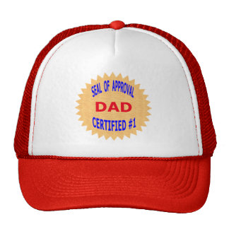 Father's Day Gift T-Shirts and Unique Gift Items Mesh Hats