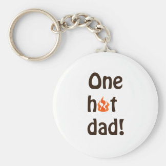 Father's Day gifts Basic Round Button Keychain