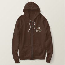 Fathers Day gifts Embroidered Hoodie
