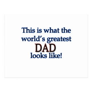 Father's Day gifts Postcard