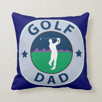 Fathers Day Golf Dad Pillows