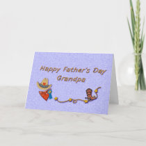 Father's Day Grandpa Cowboy Card