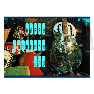 Father's Day (Guitar) Card - Customized