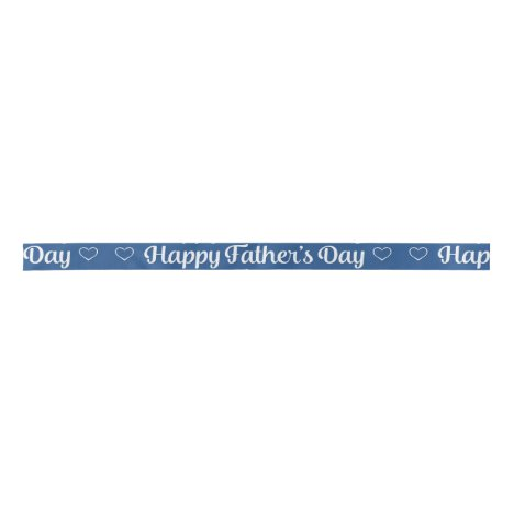 """Father's Day - """"Happy Father's Day"""" Word Art Satin Ribbon"""