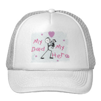 Father's Day Hero Dad Mesh Hats