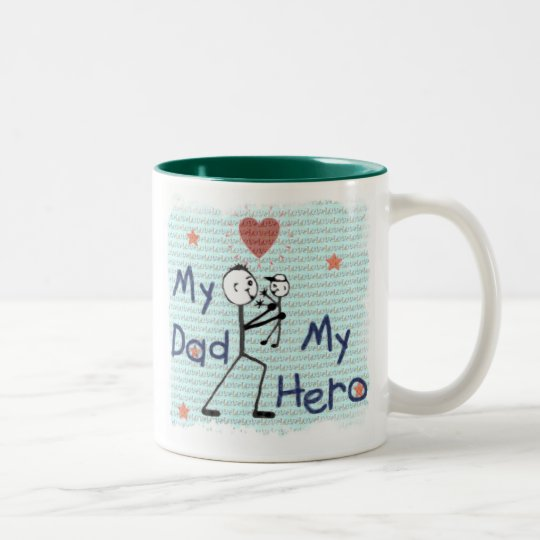 Father's Day Hero Dad Mug