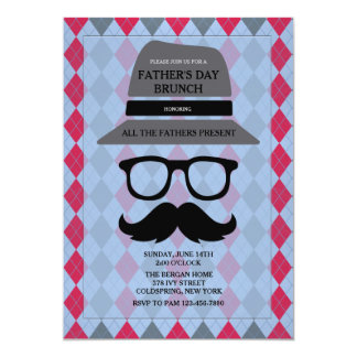 Father's Day Hipster Invitation