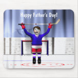 Father's Day Hockey Winner Mouse Pad