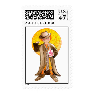 Father's Day I Love Dad! Postage Stamp