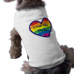 Father's Day I Love My Dads Pet Shirt