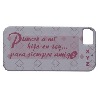 Father's Day Initials BSon-in-law Hijo-en-ley iPhone SE/5/5s Case