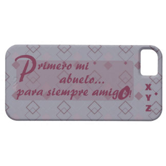 Father's Day Initials Grandfather Abuelo iPhone SE/5/5s Case