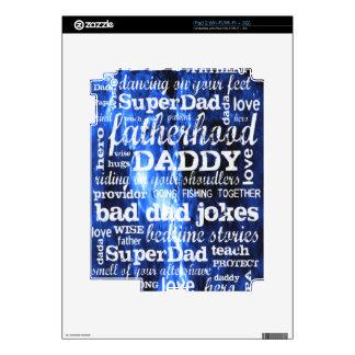 Father's Day iPad 2 Skin