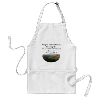 Father's Day Italy & Scripture Gifts Adult Apron