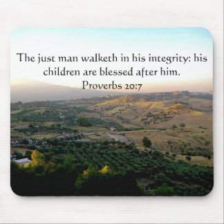 Father's Day Italy & Scripture Gifts Mouse Pad