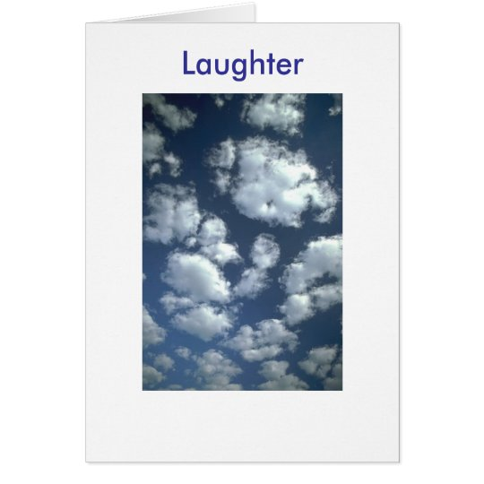 """""""Father's Day""""  Laughter Card"""