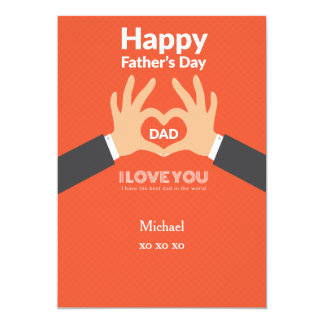 Father's Day Love Greeting Card
