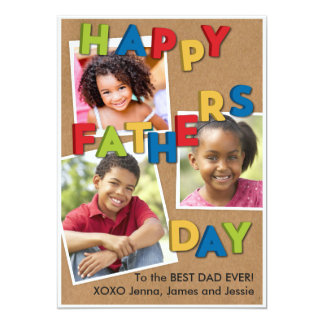 Father's Day Magnets Card