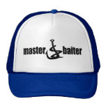 Father's Day Master Baiter Fishing Dad Trucker Hats