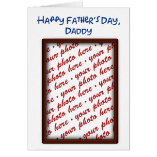 Father's Day Memento Frame Card
