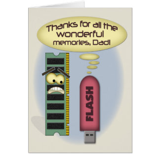 Father's Day Memories Greeting Card