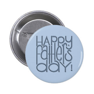Fathers Day metal Button