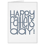 Fathers Day metal Card
