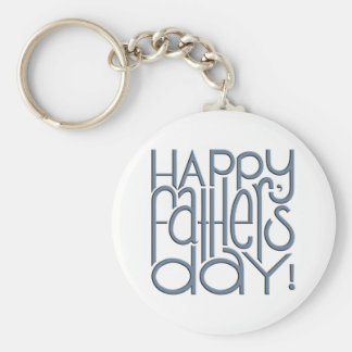 Fathers Day metal Keyring Keychain