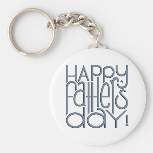 Fathers Day metal Keyring Key Chain
