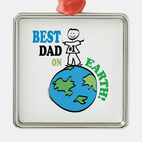 Fathers Day Metal Ornament
