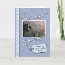 Father's Day - My Husband, Friend Card