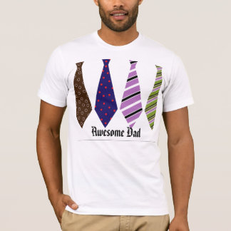 Father's Day Neck Ties Mod Stylish Classy T-Shirt