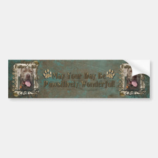 Fathers Day - Neopolitan Mastiff Bumper Sticker