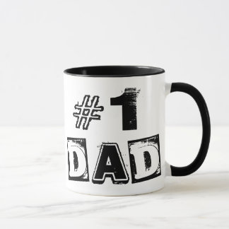 Father's Day Number One Dad Coffee Mug