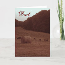 Father's Day on the Farm Card