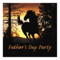 Father's Day Party Invitation