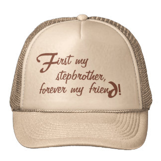 Father's Day Personal Cap Stepbrother Trucker Hat