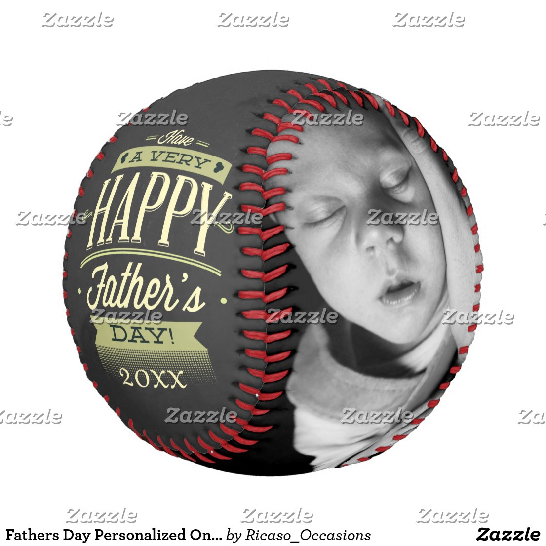 Fathers Day Personalized One Of A Kind Baseball