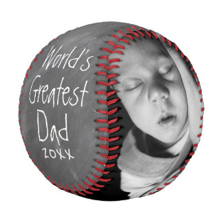 Fathers Day Personalized One Of A Kind Custom Made Baseball