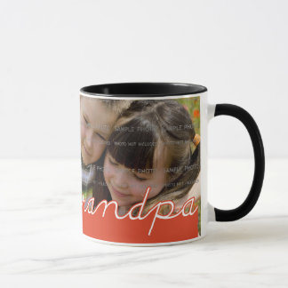 Father's Day Personalized Photo Mug for Grandpa