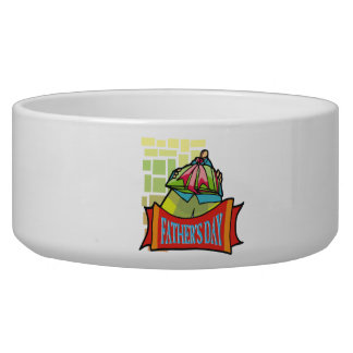 Fathers Day Pet Food Bowls