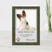Father's Day Pet's Photo from the Dog Card