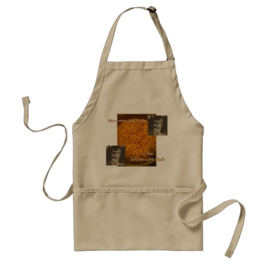 Father's Day Photo Customizable Adult Apron