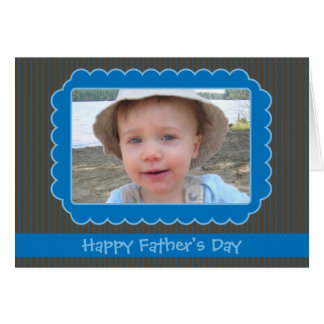 Father's Day Photo Frame Card