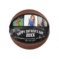 Father's Day Photo Gift Basketball Ball