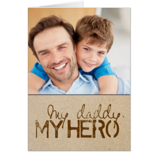 Fathers Day Photo Greeting Card